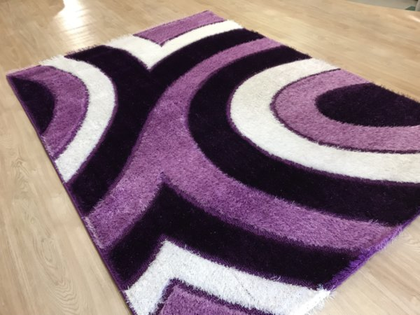 килим шаги екстра 4146 лила